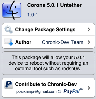 Corona Updated AGAIN to Support iPhone 4s on iOS 5.0
