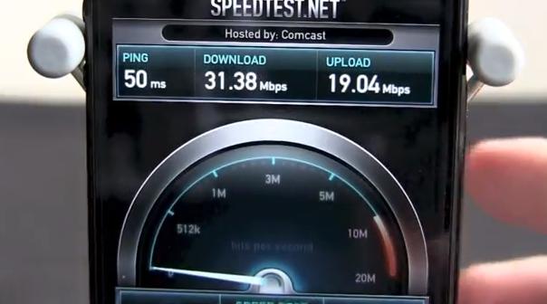 iPhone 5 Verizon 4G LTE Speed Test Shows Blazing Fast Speeds! [Video]