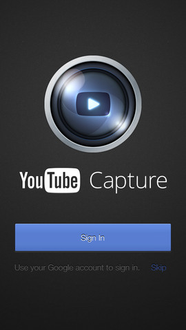 "Google Releases New iPhone App ""YouTube Capture"""
