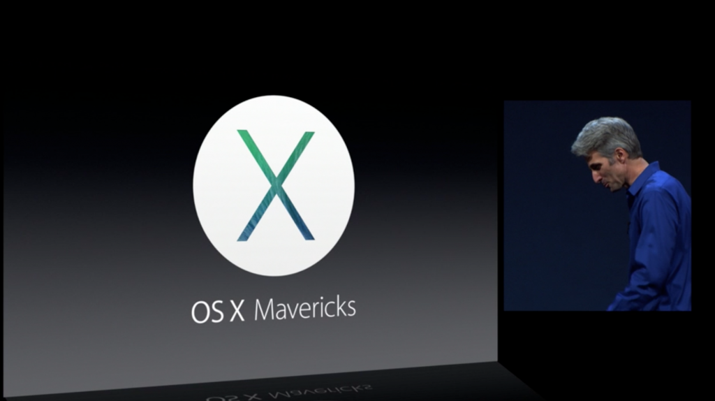 Apple Announces OS X Mavericks; Shows Off New Features