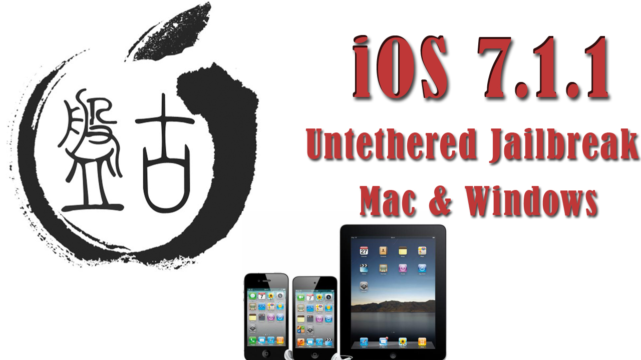 How To: Jailbreak iOS 7.1.1 Untethered Using Pangu [Windows & Mac]