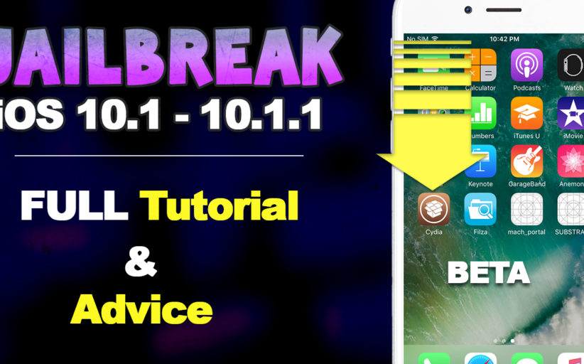 How To Jailbreak iOS 10.1 - 10.1.1 on iPhone 7, 6S & iPad Pro & How to Fix Cydia