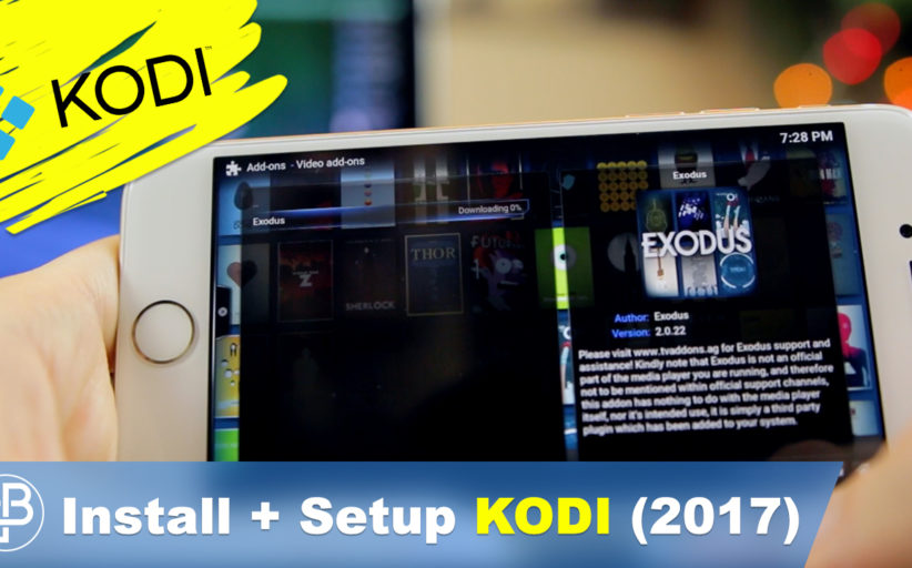 How to Setup KODI on iPhone iOS 10 (2017 Video Guide)