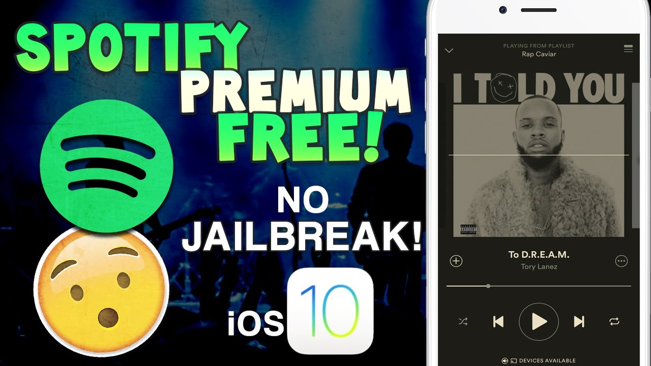 spotify premium free iphone without jailbreak